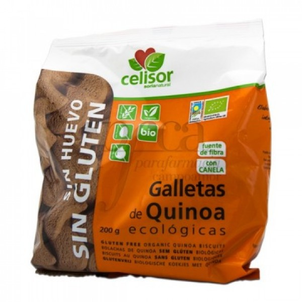 GALLETAS DE QUINOA 200G SORIA NATURAL 40002