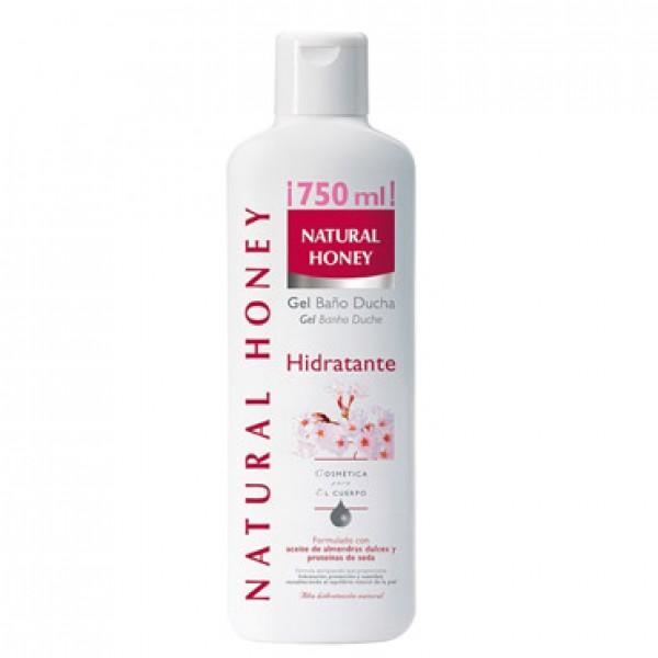 Natural honey gel de baño hidratante 750ml