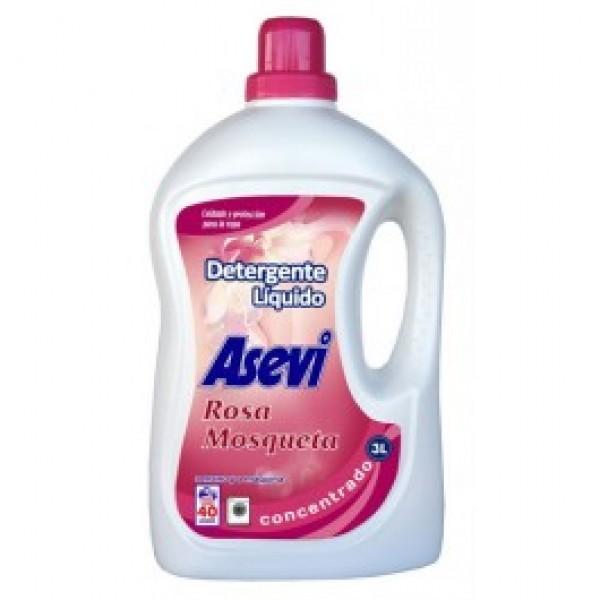 Asevi detergente rosa mosqueta 3l