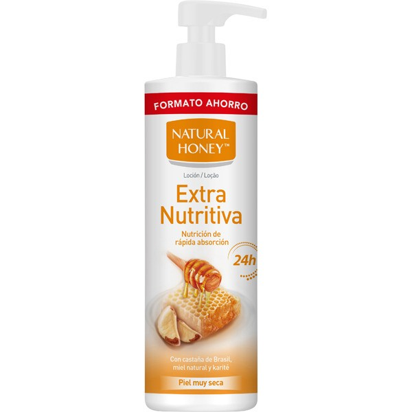 Natural honey  loción  extra nutritiva 700 ml