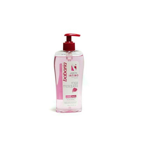 Babaria rosa mosqueta jabon intimo cuidado diario 300ml