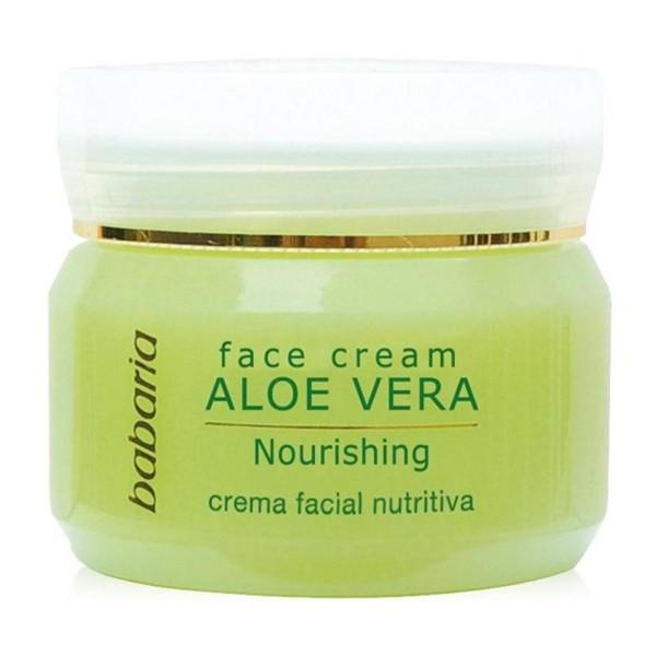 Babaria crema facial nutritiva aloe vera 50ml