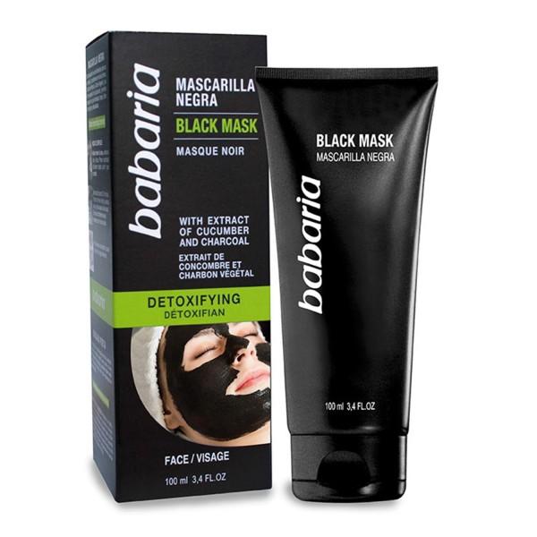 Babaria detoxifying black mask 100ml