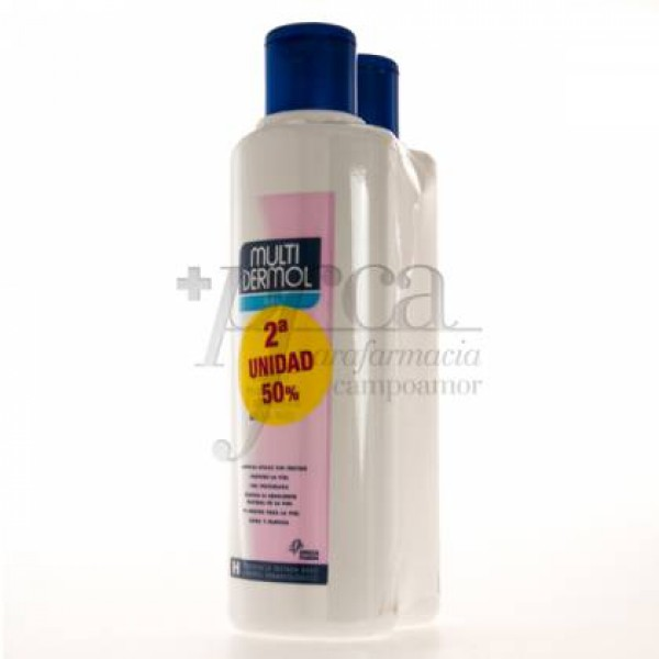 MULTIDERMOL GEL PACK 2 X 750 ML