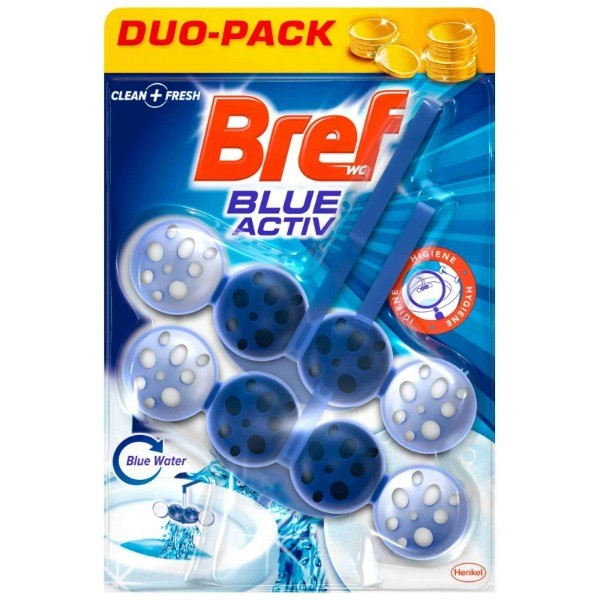 Bref WC Blue Active 2 uds